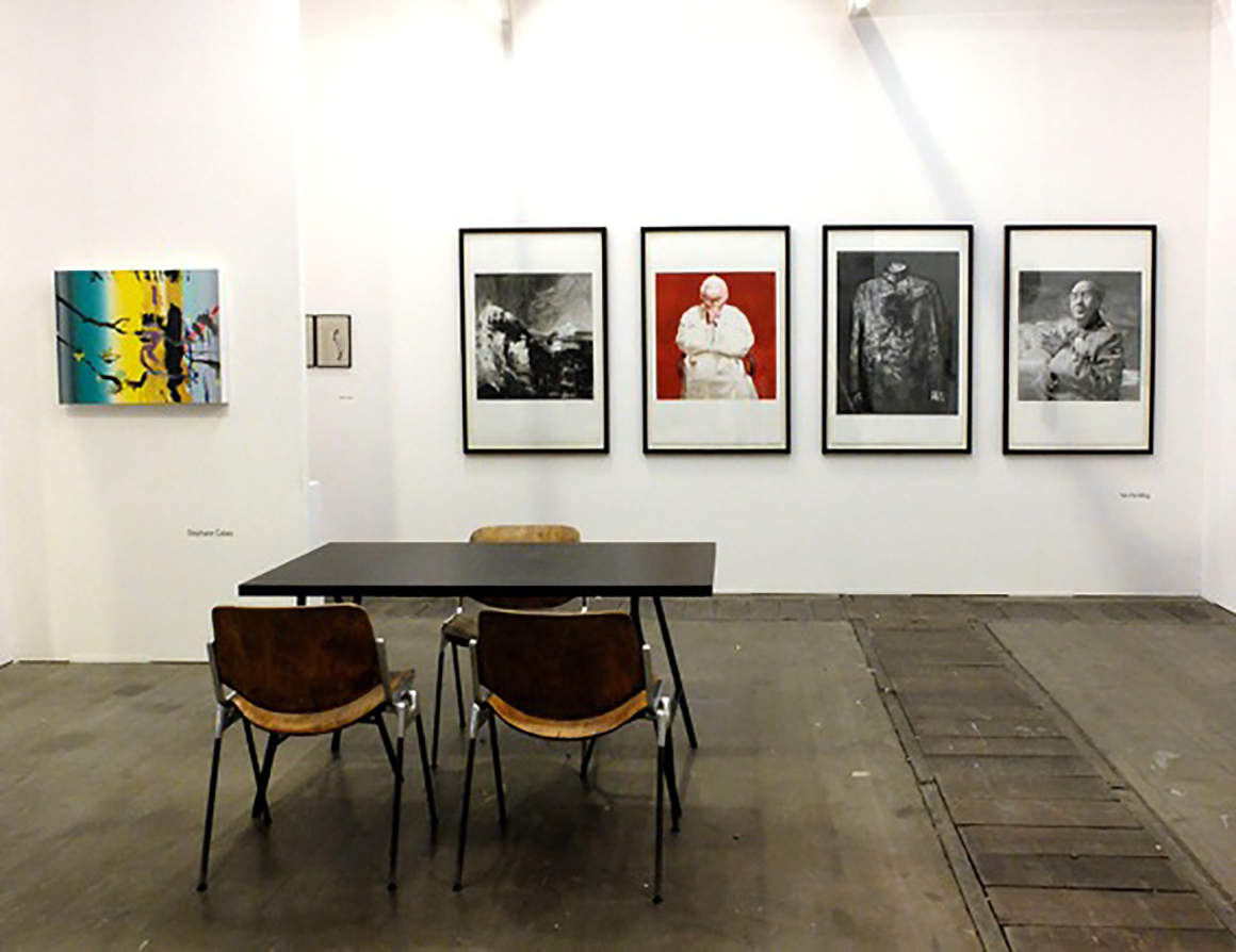 Art Brussels 2014, Hall 1, Booth 1D-20
