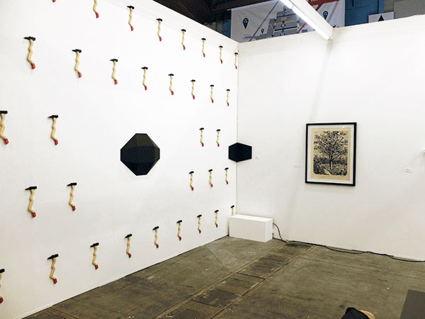 Art Brussels 2015, Hall 3, Booth 3D - 24